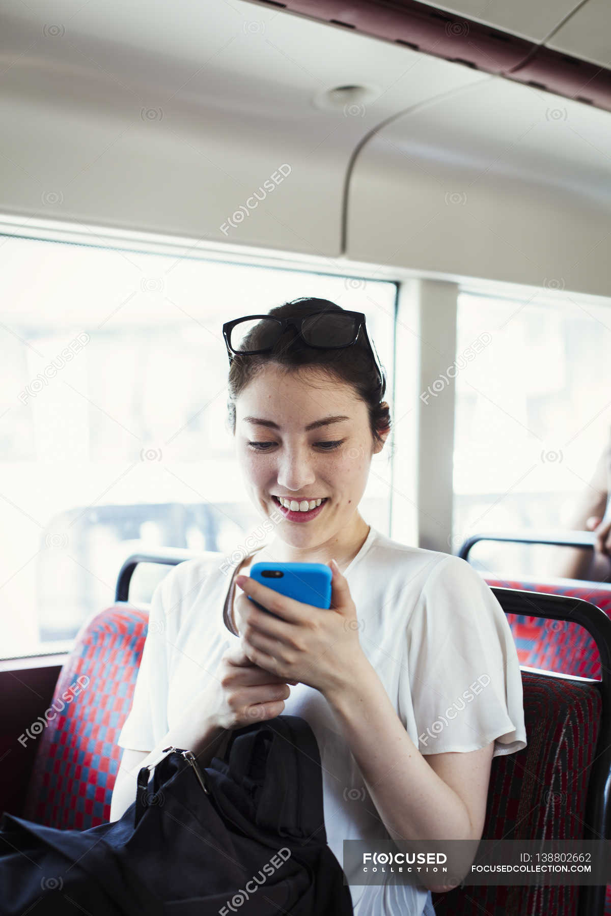 Japanese women on the bus