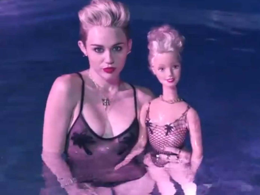 Miley cyrus new music video